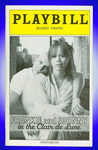 Frankie and Johnny in the Clair de Lune, Broadway Playbill + Rosie Perez, Joe Pantoliano (Frankie & Johnny In The Clair De Lune)