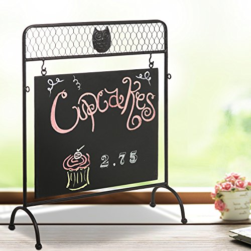 Freestanding Chalkboard Rustic Chicken Design