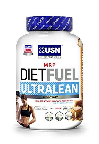 USN Diet Fuel Banana Caramel UltraLean 2 kg: Weight Control & Meal Replacement Powder