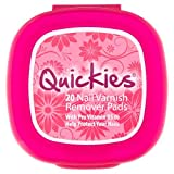 quickie Quickies For Nails - Nail Polish Remover Pads