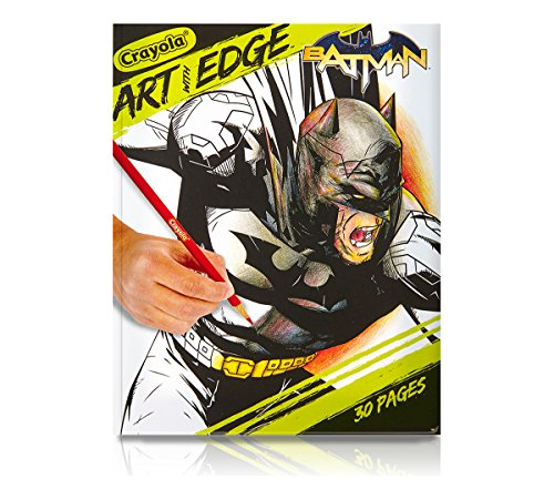 Crayola Art With Edge Batman Collection Adult Coloring