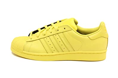 20f8d547790a Adidas Kids Superstar Supercolor Yellow S31605 6.5
