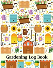 Gardening Log Book: Garden Journal Planner Notebook For Yearly, Monthly & Seasoning Planning, Manage Finance Budget, Expense Tracker, Design Layout, Plant Care Record, Maintenace, Chore List, Garden Project Tracker, Harvesting Tracker, Journal, Notes. Large Print 8.5x11 Inch