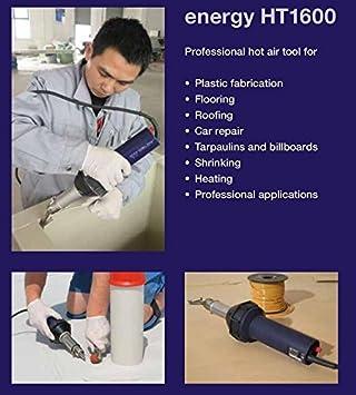 weldy linterna de plástico Soldador de soldadura de pistola de aire caliente 1600 W pistola: Amazon.es: Bricolaje y herramientas