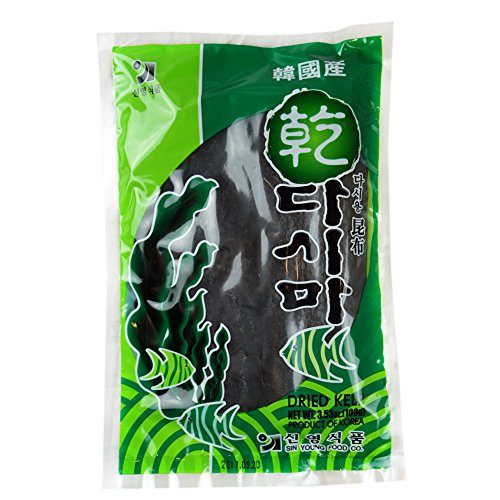 ROM AMERICA Korean Dried Kelp [ 3.53 oz ] - 100g - 다시마
