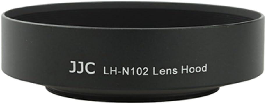 JJC LH-N102 Bayonet Lens Hood Shade For Nikon 1 Nikkor 11-27.5mm f//3.5-5.6 lens Replaces Nikon HN-N102