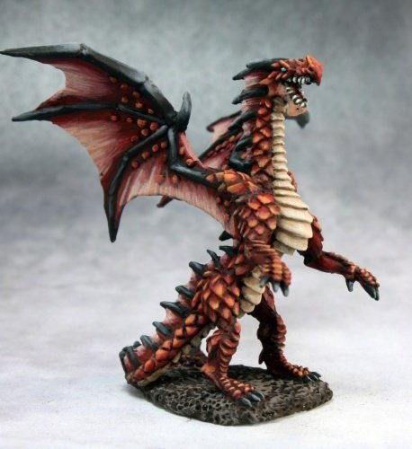 Fire Dragon Hatchling MINT/New by Reaper