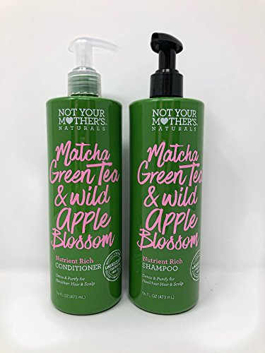 Not Your Mothers Naturals Matcha Green Tea & Wild Apple Blossom Nutrient Rich Shampoo & Conditioner