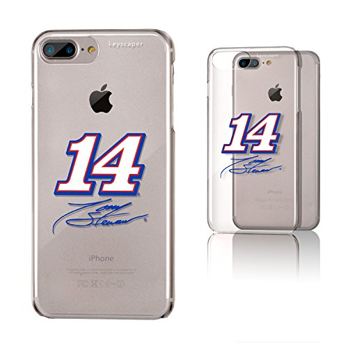 (Keyscaper Tony Stewart Clear Case for the iPhone 6+/6S+/7+/8+ NASCAR)