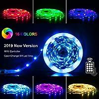 Deals on PANGTON VILLA LED Strip Lights 16.4ft