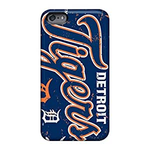 Protector Hard Phone Case For Apple Iphone 6 Plus With Customized Realistic Detroit Tigers Series Casesbest88