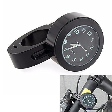 ZREAL Montre de poignet cadran avec cadran /étanche avec mini guidon pour moto