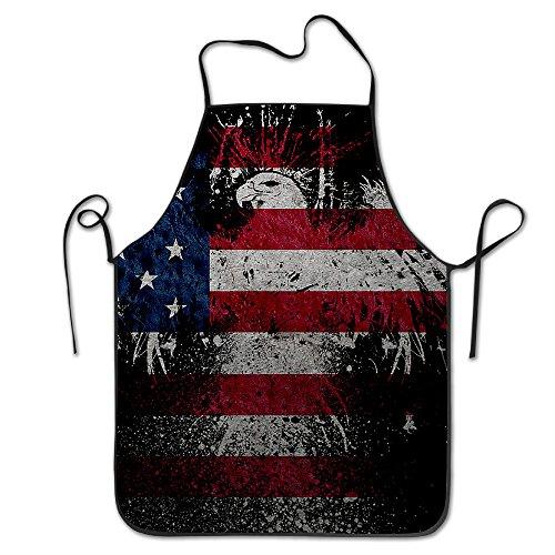 HAOYANG Unisex Classic American Eagle Flag Barbecue Apron - American Eagle Apron