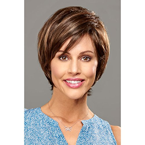Henry Margu (Zoey) - Synthetic Lace Front Monofilament Wig in 26GR ()