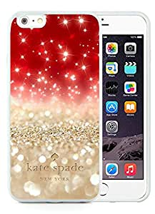 Popular Customize iPhone 6plus Phone Case Kate Spade New York Unique TPU Cover Case For iPhone 6plus 5.5 Inch 101 White