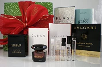 00c5a5ed771 Image Unavailable. Image not available for. Color  Womens Fragrance Sampler  Set (1 Mini Spray