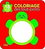 Coloriage des tout-petits : La tortue - Dès 18 mois