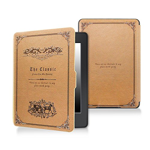 Case for kindle paperwhite-Original Design Case Skin with Auto Wake / Sleep for kindle paperwhite (Fits 2012, 2013, 2015 and 2016 Versions) by BlackEmu