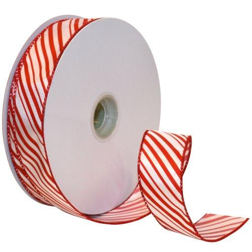 Morex Ribbon Peppermint Stripe 50 Yard