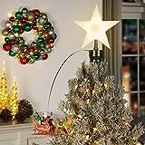 "Mr. Christmas 21"" Animated Lit Tree Topper"
