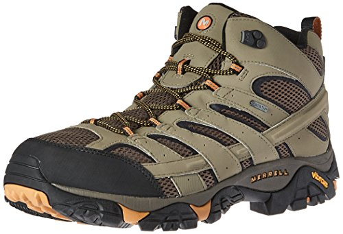 Merrell Men's Moab 2 Mid GTX Hiking Boot, Walnut, 10.5 M US