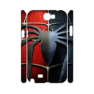 Spider-Man ROCK0091727 3D Art Print Design Phone Back Case Customized Hard Shell Protection Samsung Galaxy Note 2 N7100