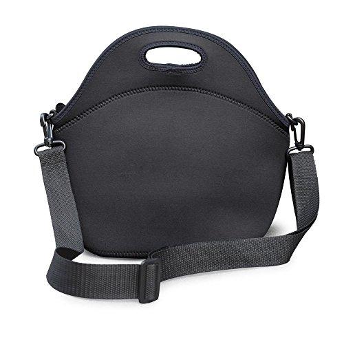 leopard-outdoor-neoprene-lunch-bag-wine-tote-lunch-bag-with-shoulder-strap-black