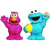 Playskool Sesame Street Figures 2-Pack - Cookie Monster and Telly