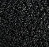 TOUGH-GRID 750lb Black Paracord/Parachute Cord