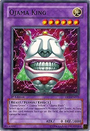 YU-GI-OH! - Ojama King (DP2-EN015) - Duelist Pack 2 Chazz Princeton - Unlimited Edition - Common by: Amazon.es: Juguetes y juegos