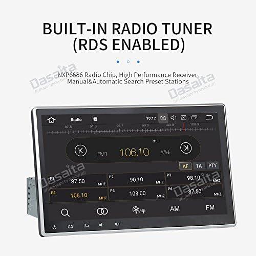 Dasaita 10 2 Inch Android 9 0 Bluetooth Car Radio 1 Din Elektronik