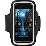 Ailun Armband for iPhone 8 7 X Armband for Galaxy s8 s9 S7 S6 Sport Anti Slip,Slim Lightweight,Dual Arm-Size Slots,Sweat&Scratch Resistant Key Pocket,with Touch ID Headphone Port[Black]