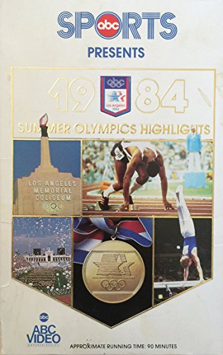 - SUMMER OLYMPICS HIGHLIGHTS: 1984 ABC Sports Presents BETA Video