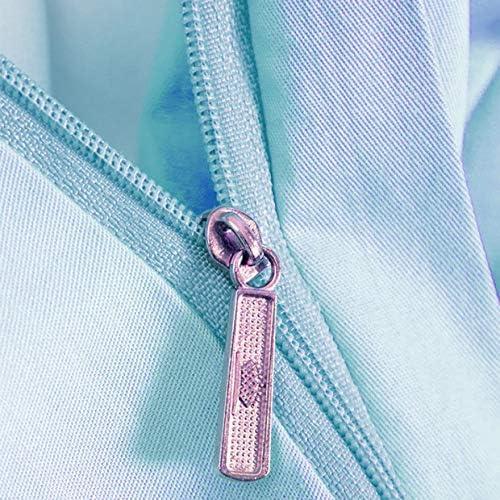 Wangxin® 4 Pièce Couverture Couette Imprimée en Microfibre Tricot 100% Coton Suit Une Housse De Couette 1 Feuille 2 Taie 1.8m200*230