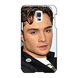 Top10cases Samsung Galaxy S5 Mini Great Hard Phone Cases Support Personal Customs High-definition Ed Westwick Pattern [OTj862dpJB]