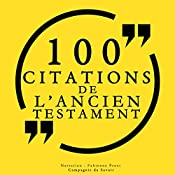 100 citations de l'Ancien Testament |  auteur inconnu