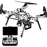 MightySkins Protective Vinyl Skin Decal for 3DR Solo Drone Quadcopter wrap cover sticker skins Trooper Storm