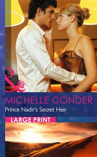 book cover of Prince Nadir\'s Secret Heir