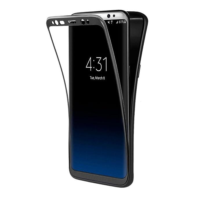 54 opinioni per Custodia Galaxy S8 Nero , ivencase Cover Galaxy S8 Silicone Ultra Sottile Front