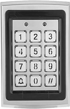 Controlador de acceso a la tarjeta RFID elevador, teclado Identificación kit de sistema de control de acceso independiente, prensa de la mano código ...