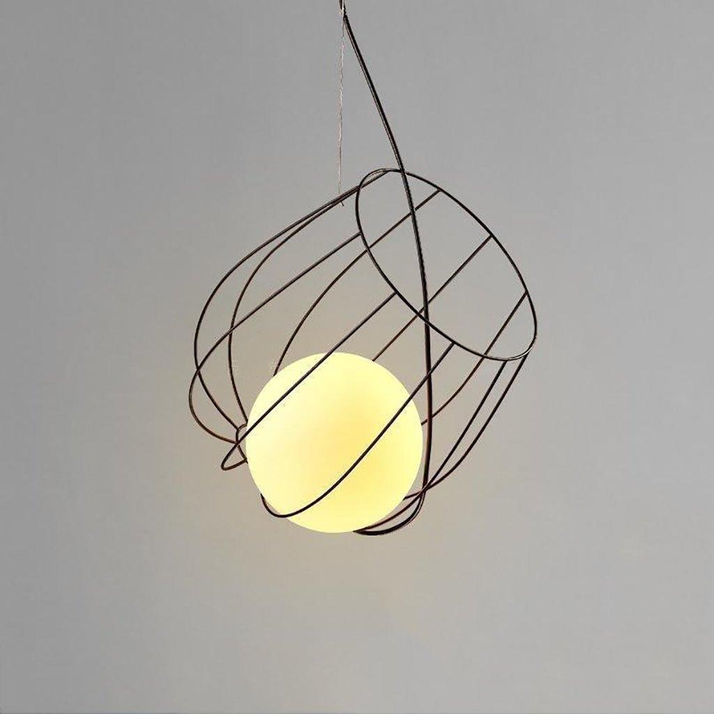 Einfache Kronleuchter Kreative Restaurant Café Studio Bügeleisen Dekorative Leuchten Retro Deckenleuchte (Größe  B)