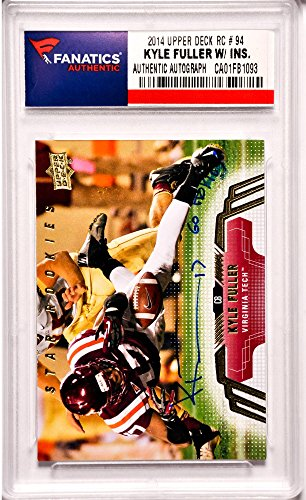 Kyle Fuller Chicago Bears Autographed 2014 Upper Deck Roo...