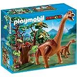 Playmobil - 5231 - Jeu de Construction - Brachiosaure et son Petit