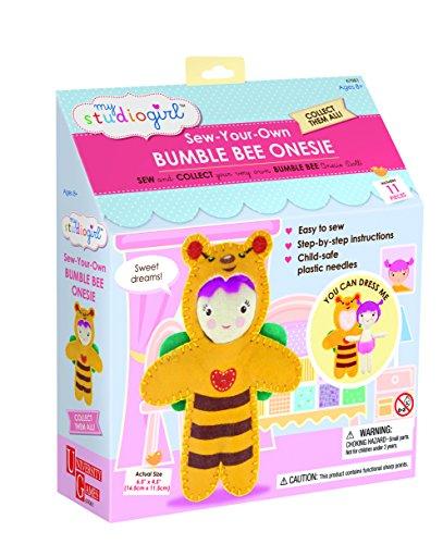 Bumble Bee Costumes For Horses (My Studio Girl Onesies - Bumble Bee)