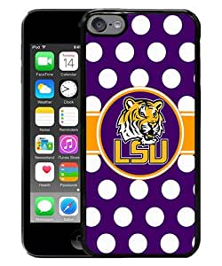 Hot Sale iPod Touch 6 Cover Case ,Southeastern Conference SEC Football LSU Tigers 01 Black iPod Touch 6 Cover Popular And Lovely Custom Designed Phone Case