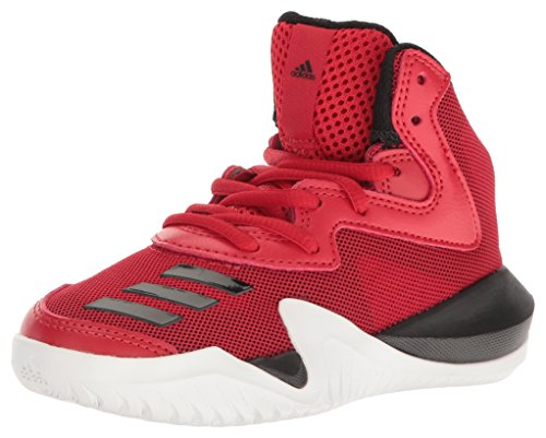 Adidas Leather Wrap - adidas Originals Kids Shoes | Crazy Team K Skate, Scarlet/Black/White, (7 M US)