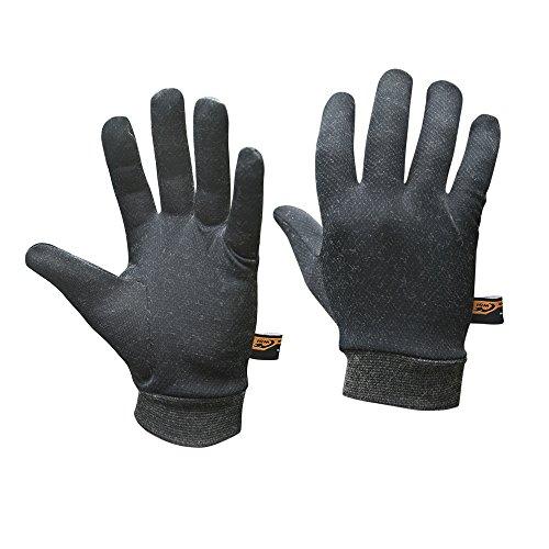 Wsi Sports (WSI Heatr Glove Liners, Black, Small)