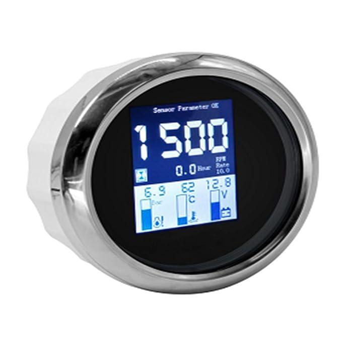 52mm IP67 Waterproof 2 Inch D DOLITY Oil Pressure Gauge-0-145 PSI,0~10bar
