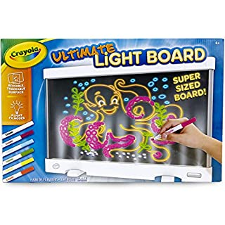 Crayola Ultimate Light Board, Drawing Tablet, Gift for Kids, Age 6+, White