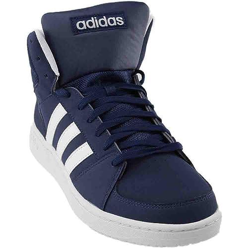 d15e0ab2e617a Adidas Men's VS Hoops Mid, Navy/White, 13.5 D: Amazon.ca: Shoes ...